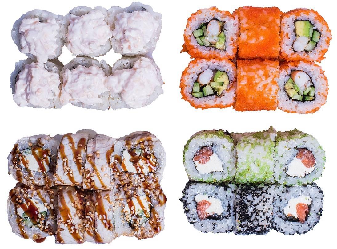 суши сет меню