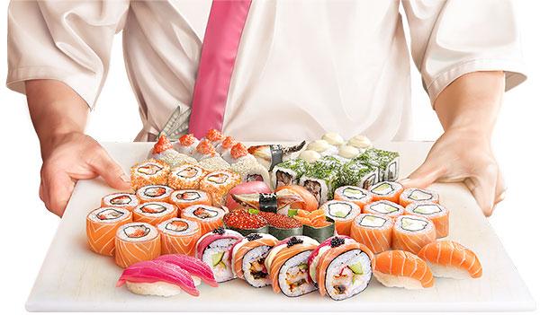 Заказать суши на дом Николаев - Karakatizza