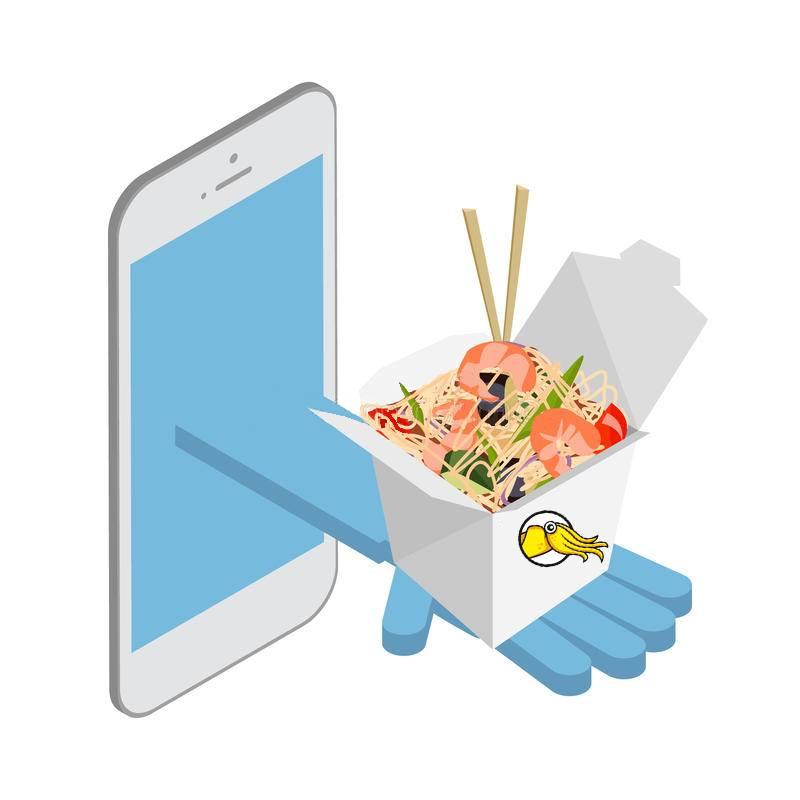 Заказать роллы онлайн - Karakatizza