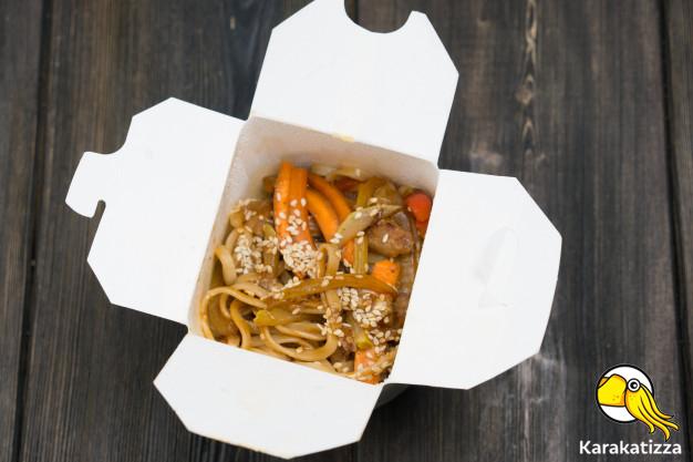 Доставка лапши в коробочках Николаев - онлайн-ресторан «Karakatizza»
