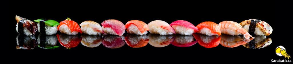 Большие наборы суши с бесплатной доставкой - Karakatizza