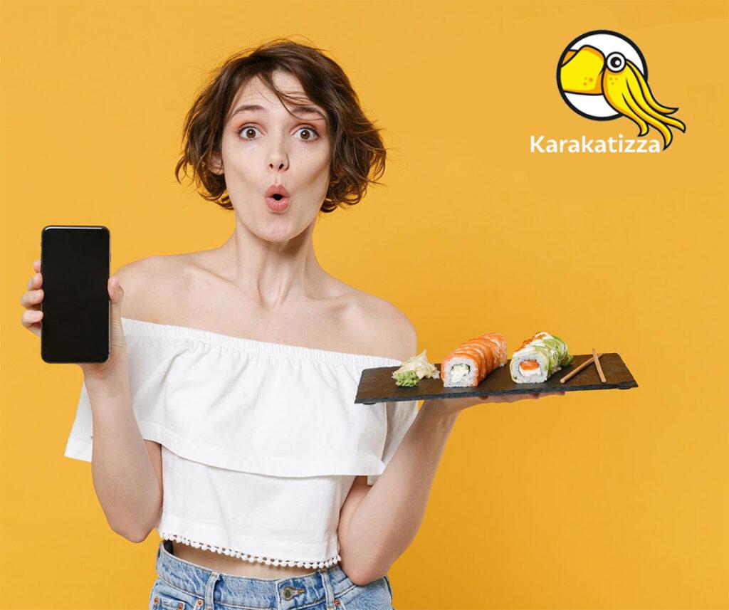 Доставка блюд японской кухни в Николаеве - Karakatizza