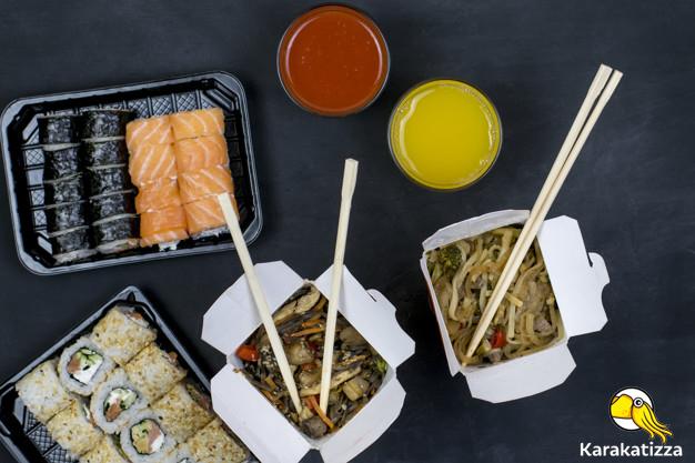 Быстрая доставка еды в коробочках по Николаеву - Karakatizza