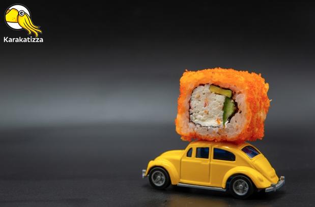 Хорошие суши в онлайн-ресторане Karakatizza