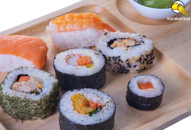 Правильные суши в онлайн-ресторане Karakatizza