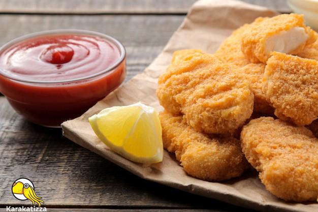 Куриные наггетсы в онлайн-ресторане Каракатица