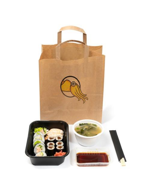 Суши с доставкой на дом от онлайн-ресторана Karakatizza