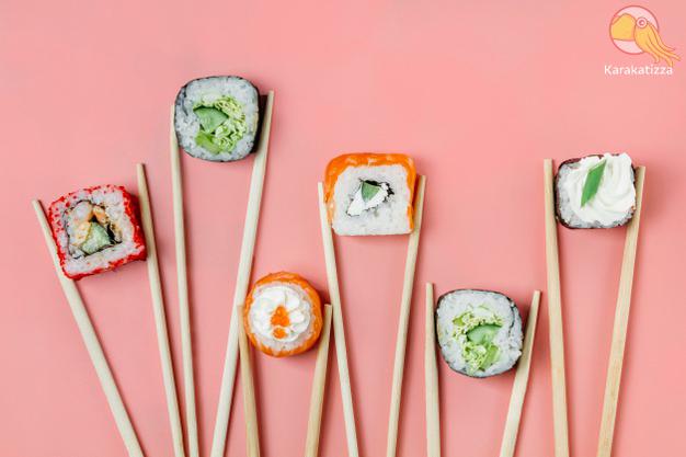 Заказ японской еды на дом - онлайн-ресторан Karakatizza