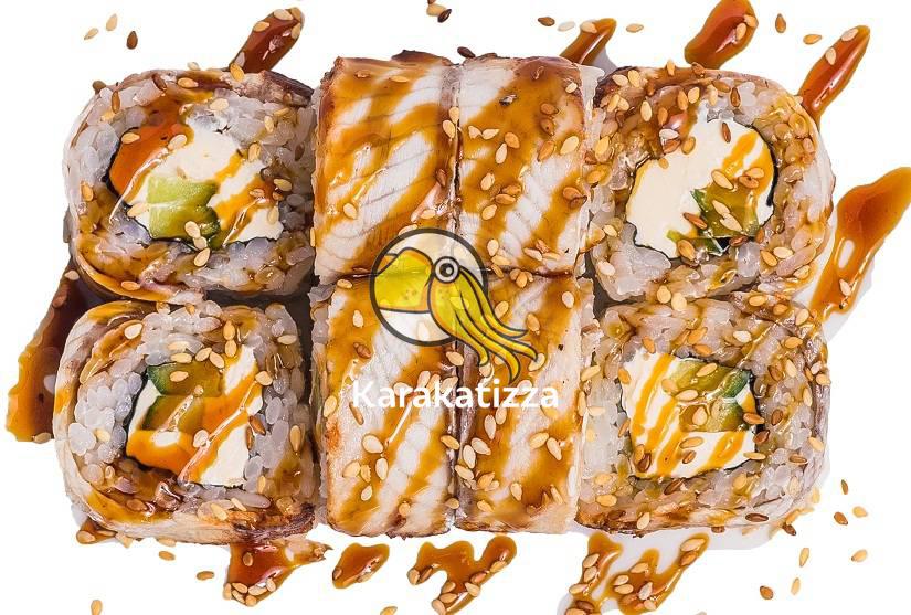 Суши с угрем - онлайн-ресторан Karakatizza