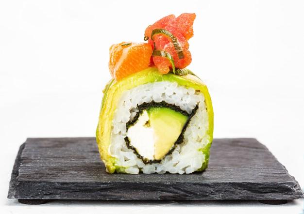 Суши роллы бесплатная доставка от онлайн-ресторана Karakatizza