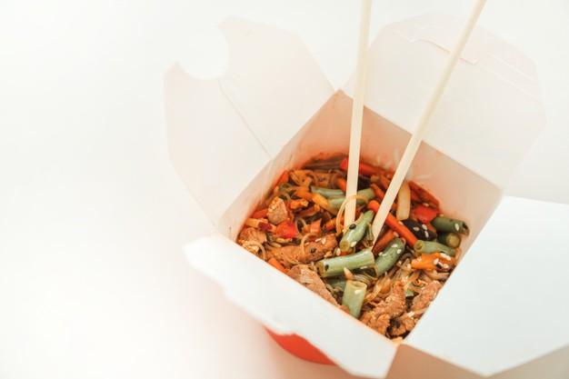 Заказать лапшу wok на дом - онлайн-ресторан Каракатица